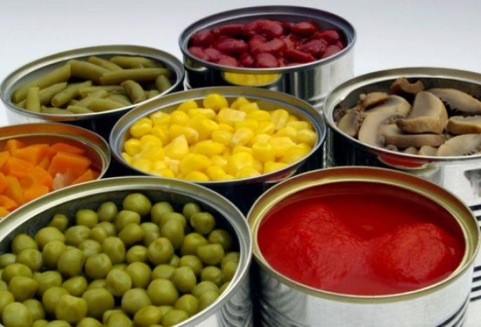 Консервы овощные диеты