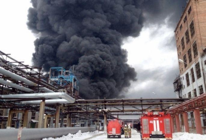 В Омске СКР закрыло уголовное дело по факту взрыва на заводе «Омский каучук»