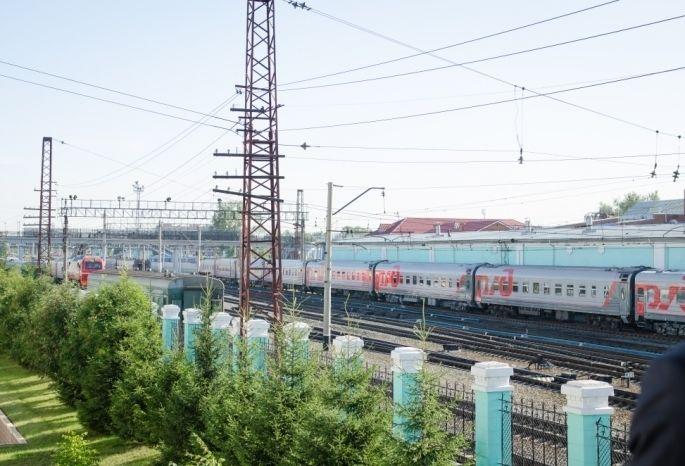 На следующей неделе в Омск прибудет агитпоезд Армия Победы