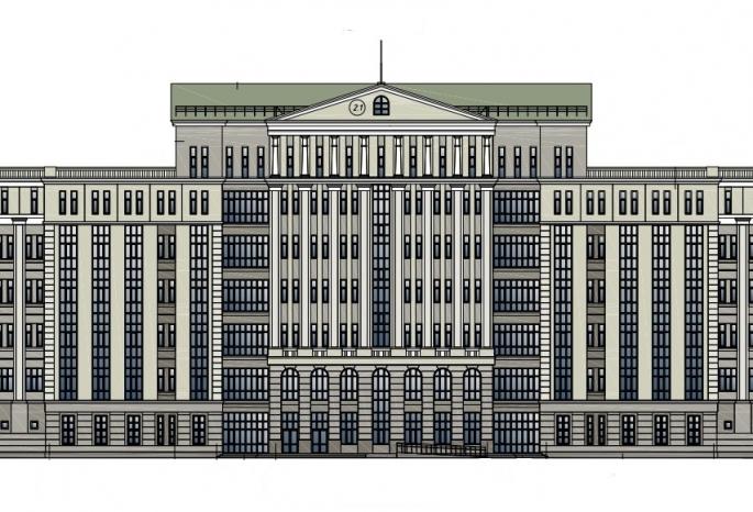 В Омске для областного суда построят здание за 716,7 млн рублей