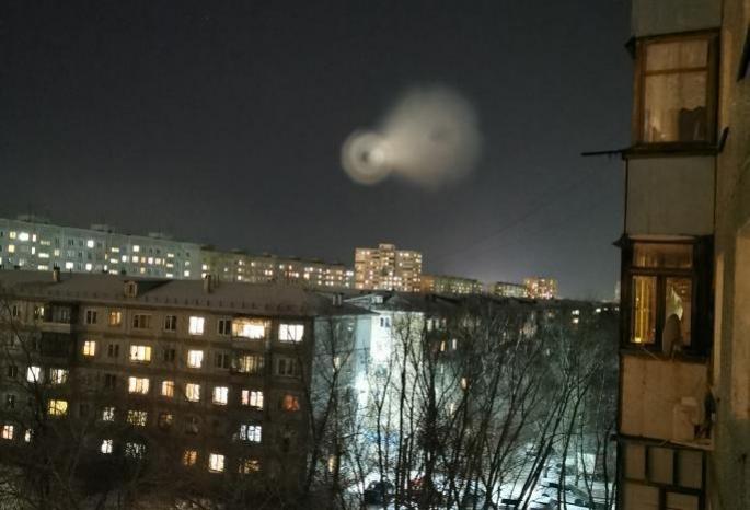 Неопознанный объект над омским небом оказался баллистической ракетой
