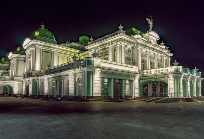 Омская драма вошла в десятку самых красивых театров России