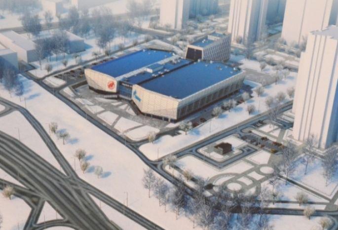 Омский градсовет одобрил проект хоккейной академии «Авангард»