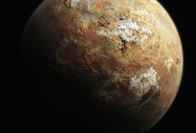 НаПлутоне отыскали большие залежи водяного льда