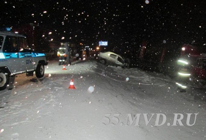 Натрассе Тюмень— Омск вДТП погибли три человека