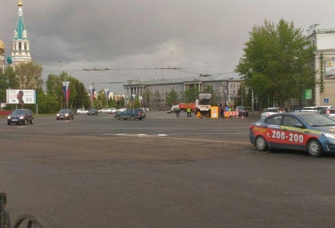 ВОмске временно поменяется движение городского автомобильного транспорта