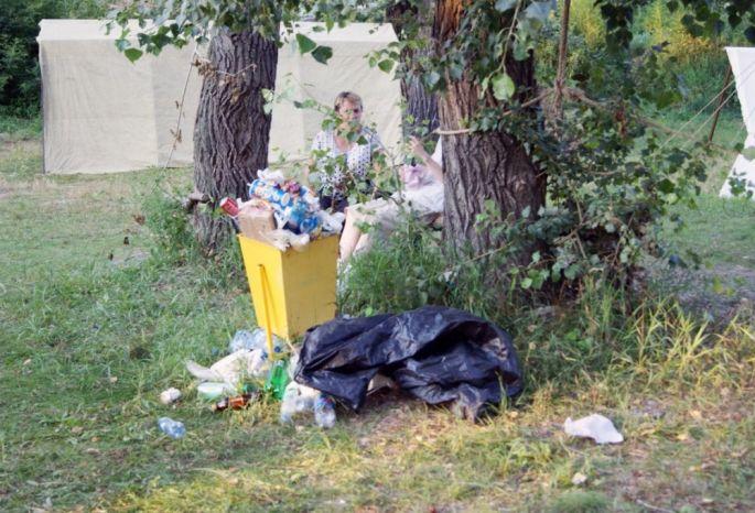 После празднования Дня города сулиц вывезли 45 КамАЗов мусора