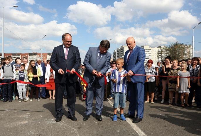 ВОмске состоялось праздничное открытие путепровода наулице 15-й Рабочей