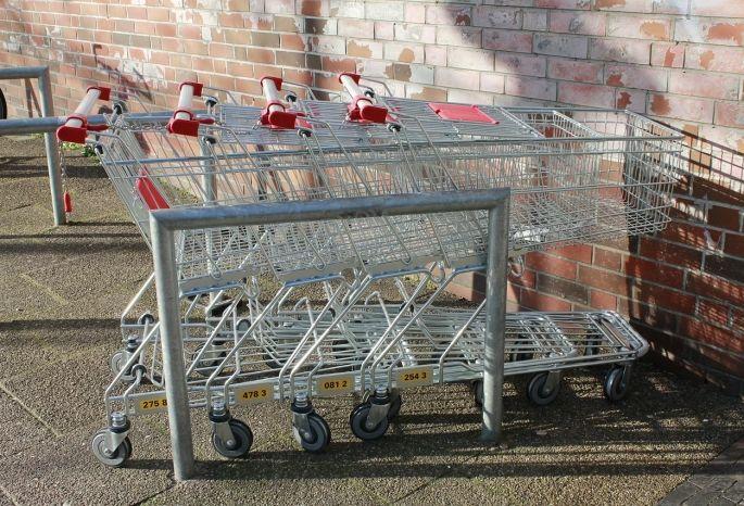 ВОмске жулик пытался обокрасть супермаркет при помощи тележек-двойников