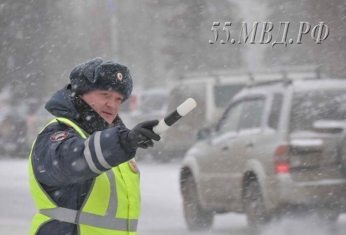 Погода вОмске стала предпосылкой транспортного коллапса имассовых ДТП