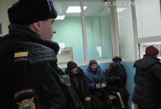 Омских бомжей проверяют напричастность кнераскрытым преступлениям