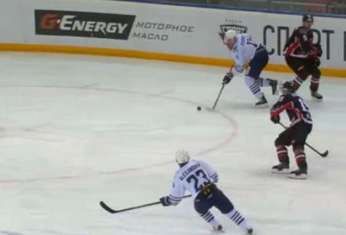 «Адмирал» победил «Авангард» вматче чемпионата КХЛ