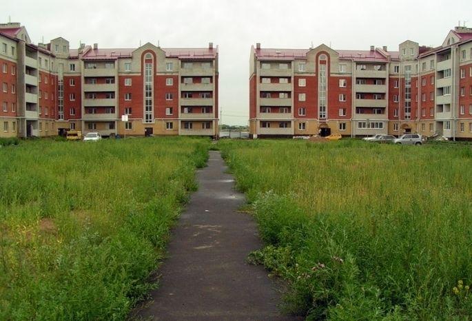 Вомской «Ясной поляне» достроили дом для обманутых дольщиков