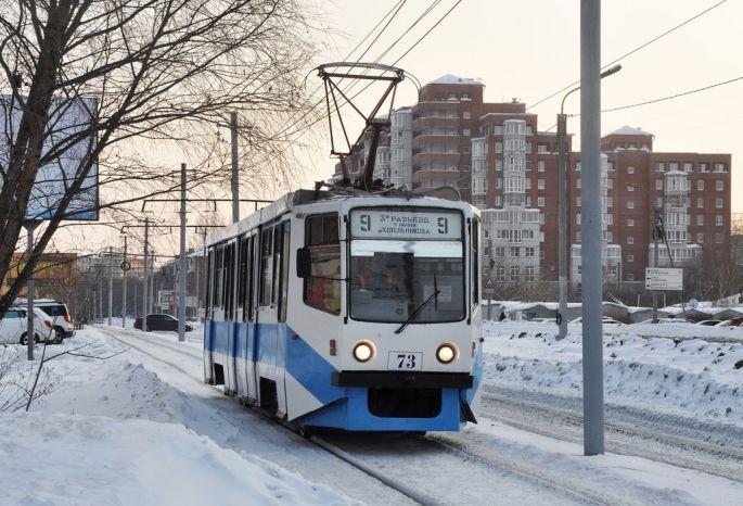 Наомские маршруты вышел третий московский трамвай