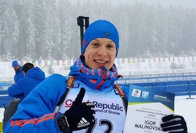 Омский биатлонист примет участие взаключительном этапе Кубка мира вНорвегии