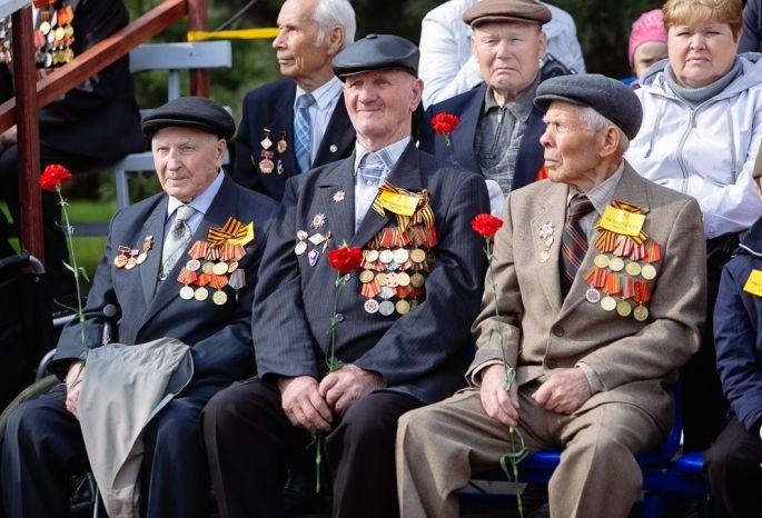 К9мая омские ветераны получат по3,6 тысячи руб.