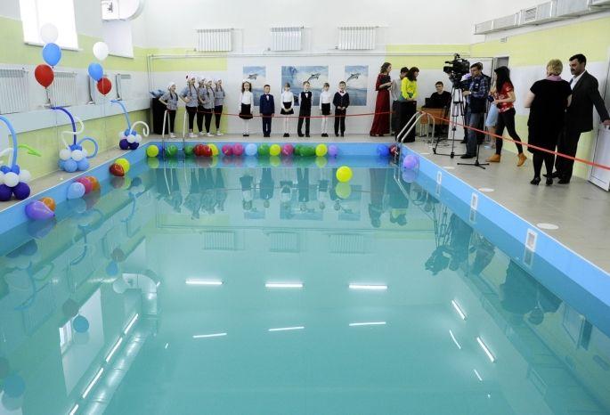 Вомской школе за5 млн. отремонтировали бассейн