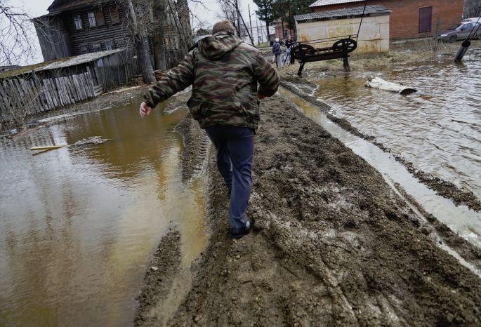ВОмской области сняли режим ЧС, введенный из-за паводка