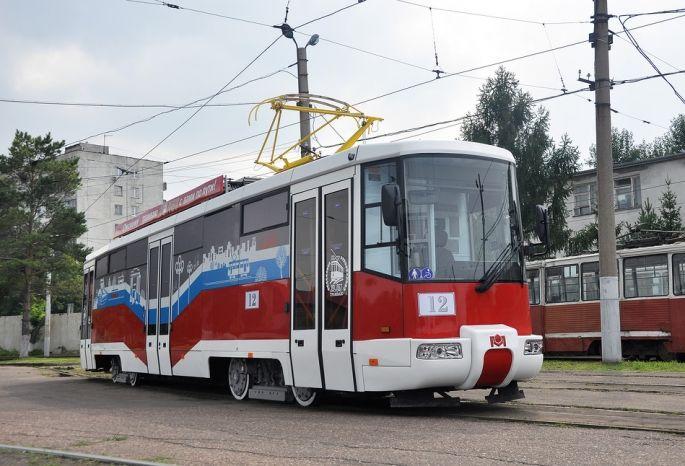 Поулицам Омска начнет ходить «Трамвай радости»