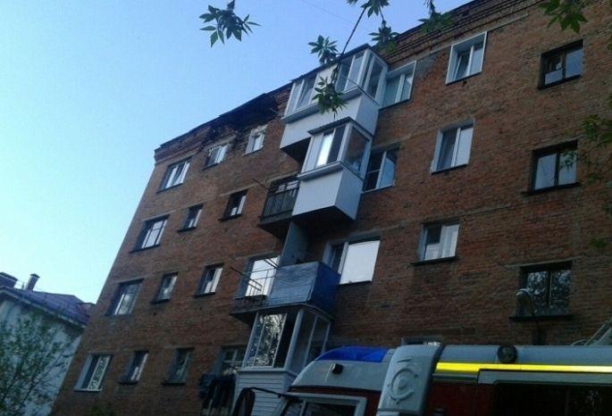 Область выделит резервные средства наремонт дома собрушенной кладкой вОмске