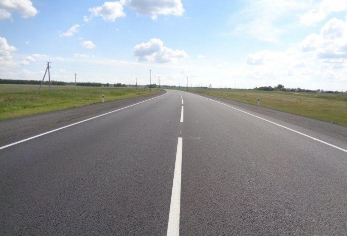 Завершен ремонт участка дороги «Орел-Тамбов»