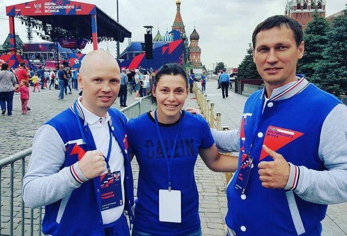 Вцентре столицы собрались 3 тыс боксеров— видео сКрасной площади