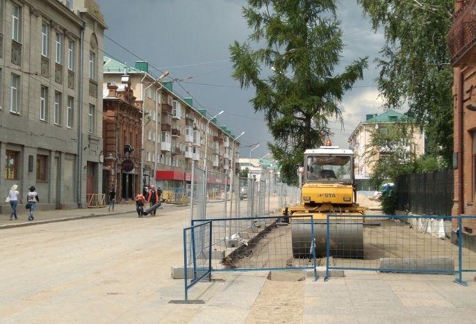 Улицу Ленина вОмске откроют всамом начале сентября