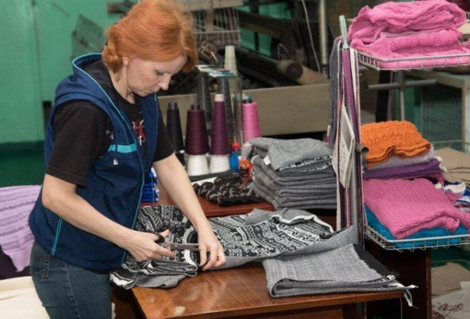 Вкитайских магазинах нарасхват омский трикотаж