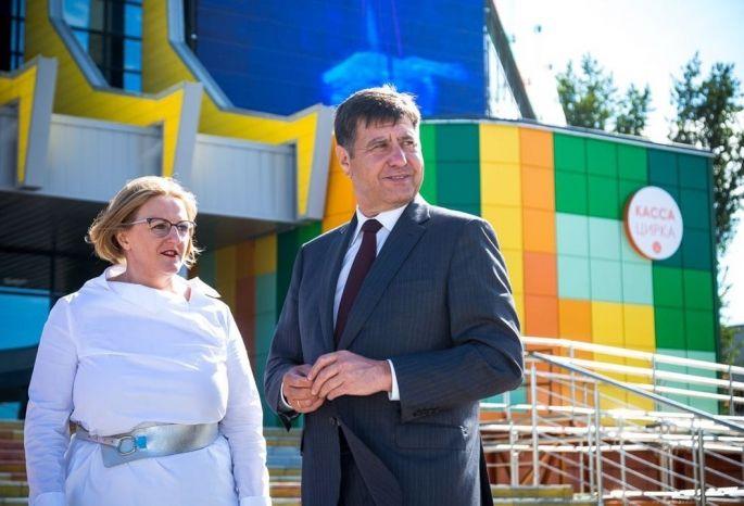 ВОмском цирке организовали наибольший заУралом кинотеатр
