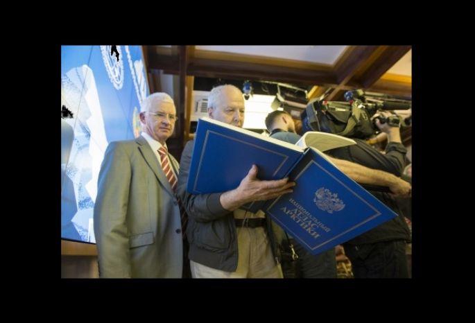 Путину подарят атлас Арктики, изданный вОмске