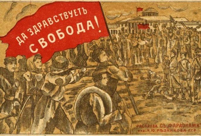 ВОмске идут съемки документального сериала ореволюции 1917 года