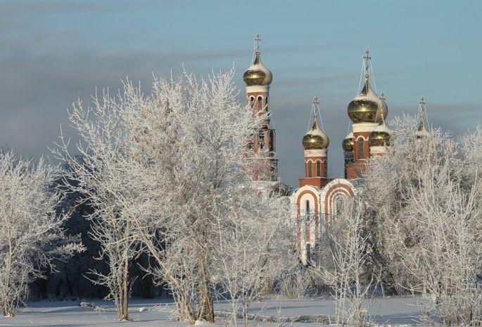 Омск оказался вчисле известных новогодних направлений