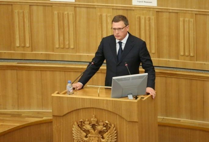 Врио руководителя Омской области Бурков стал самым медийным губернатором Сибири