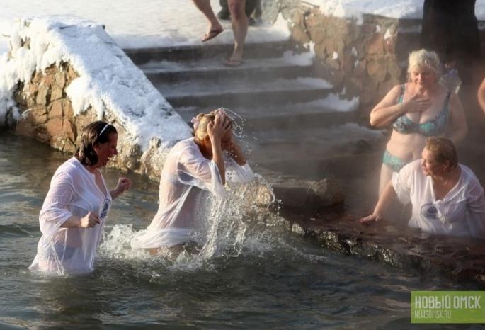 Вода в 3-х купелях Омска несоответствует нужным условиям
