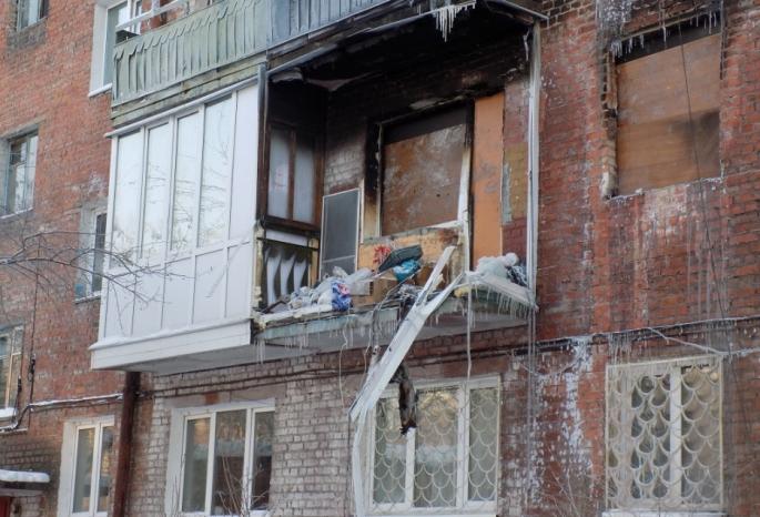Омские семьи возвратятся вдом, где взорвался газовый баллон