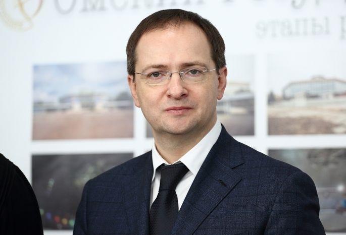Сначала марта вОмске ожидают министра культуры Мединского