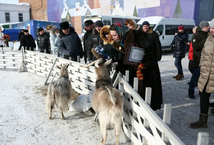 Омичи побили московский рекорд на наибольший масленичный хоровод