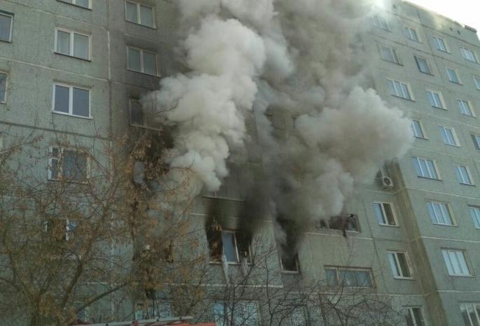 Омича, вквартире которого произошел взрыв газа, подозревали вторговле баллонами