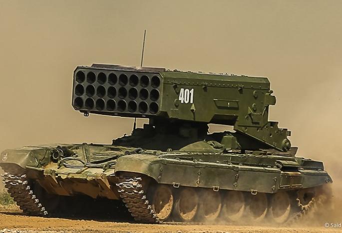 Огнеметы «Солнцепек» поступили навооружение Восточного военного округа вПриамурье