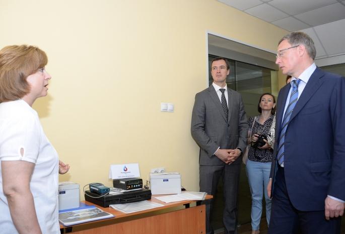 ВОмске начал работу центр экологического мониторинга воздуха