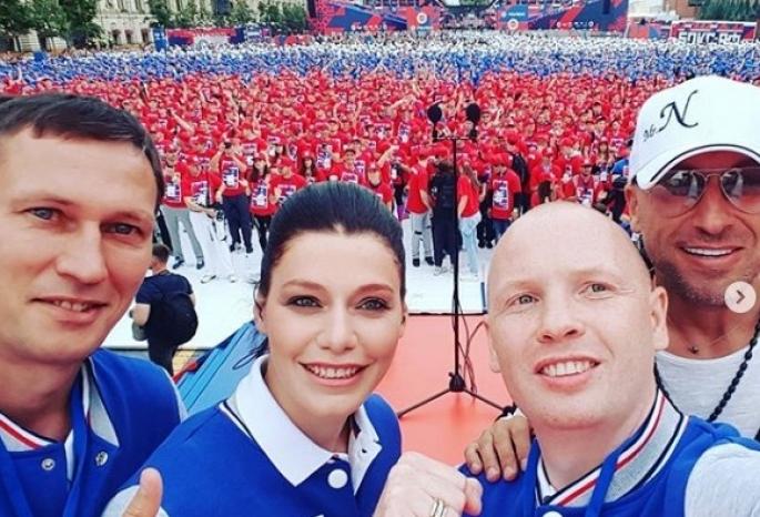 5 тыс. жителей столицы поучаствовали вбоксерской тренировке наМанежной площади