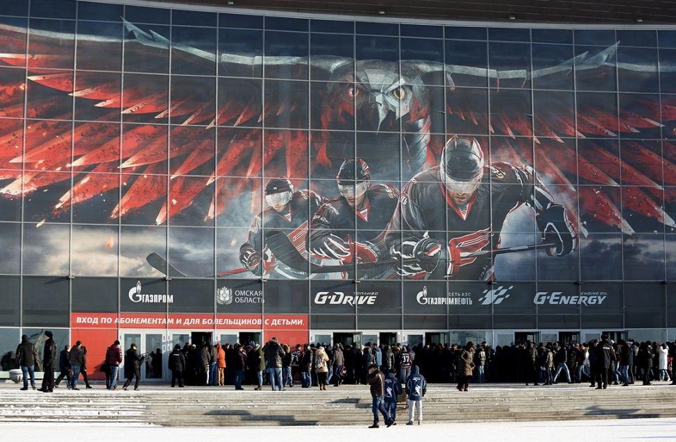 Омский «Авангард» несмог додавить «Адмирал» втретьем матче серии навылет